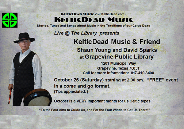 Live at the Library: Keltic Dead
